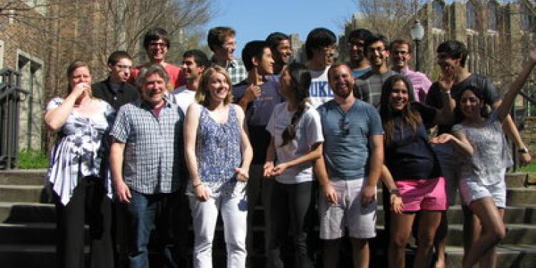 group of lab members
